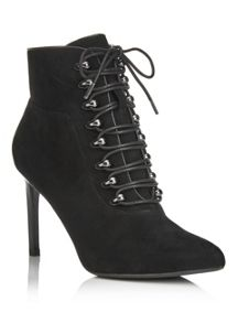 Miss Selfridge Atom Point Lace Boot