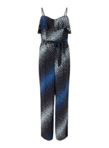 Miss Selfridge Graphic Print Jumpsuit