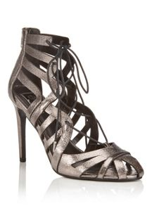 Miss Selfridge Circus Caged Ghillie Sandal