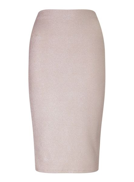 Miss Selfridge Petites Glitter Pencil Skirt