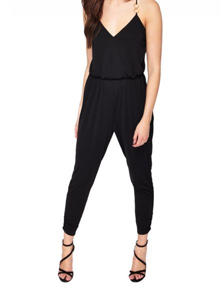 Miss Selfridge Petite Ring Detail Jumpsuit