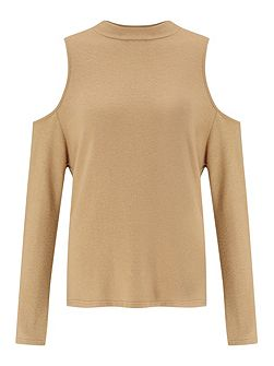 Camel Knot Back Top