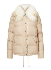 Miss Selfridge Champagne Puffer