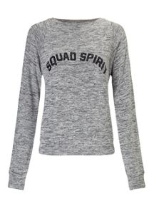 Miss Selfridge Petites Squad Spirit Sweat