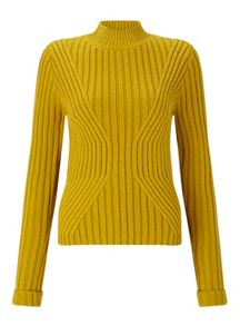 Miss Selfridge Chrtrs Rb Trnsfr Jumper