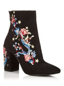 Miss Selfridge Athens Embroidered Boot