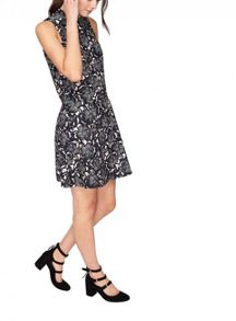 Miss Selfridge Floral Double Layer Dress