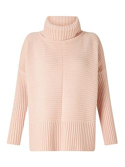 Pink Chunky Knitted Jumper