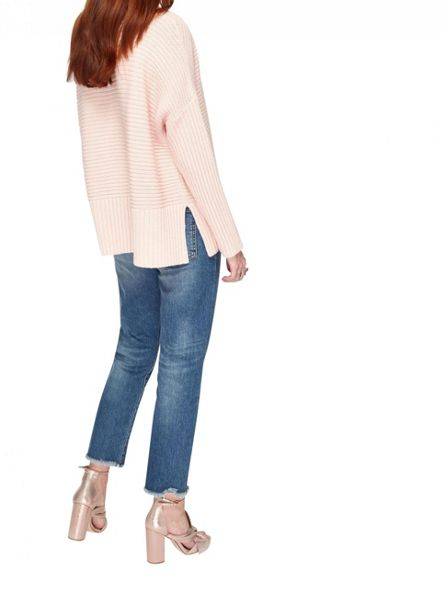 Miss Selfridge Pink Chunky Knitted Jumper