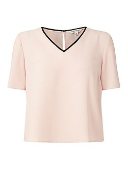 Pink Bow Back Tee