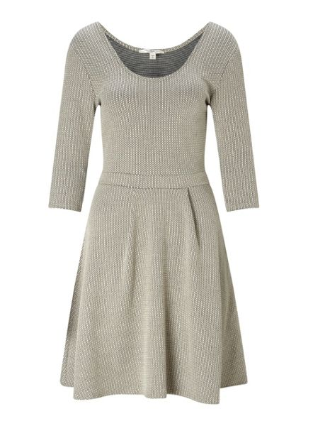Miss Selfridge Jacquard Scoop Skater Dress