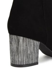 Miss Selfridge Albert Contrast Heel Boot