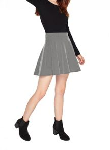 Miss Selfridge Petite Spot Skater Skirt