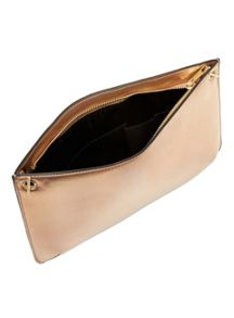 Miss Selfridge Metallic Cross Body Bag