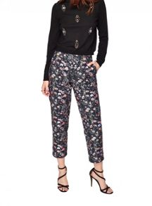 Miss Selfridge Folk Flora Jacquard Trouser