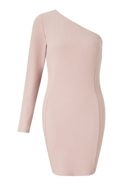 Miss Selfridge 1 Shoulder Bodycon Dress