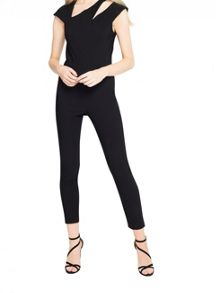 Miss Selfridge Asym Cut Out Beng Jumpsuit
