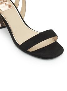 Miss Selfridge Clever Block Heel Sandal