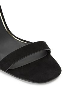 Miss Selfridge Cherry Barely There Sandal