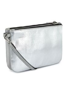 Miss Selfridge Double X Body Bag