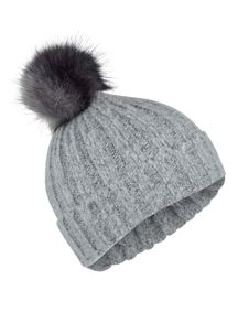 Miss Selfridge Grey Ombre Body Beanie