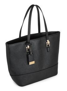 Miss Selfridge Scratchy Tote Black