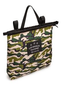 Miss Selfridge Camo Multi Shopper