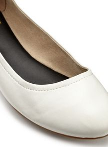 Miss Selfridge Ebony Ballet Flat