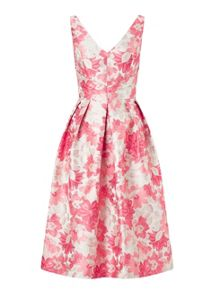 Miss Selfridge Jacquard Prom Dress