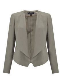 Miss Selfridge Khaki Waterfall Jacket