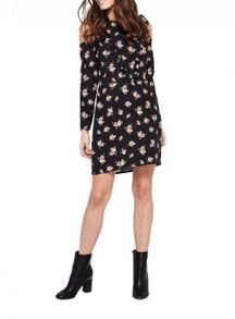 Miss Selfridge Ditsy Ruffle Tea Dress