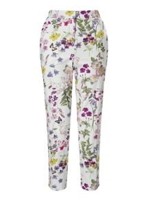Miss Selfridge Lark Print Trouser