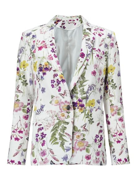 Miss Selfridge Lark Print Jacket