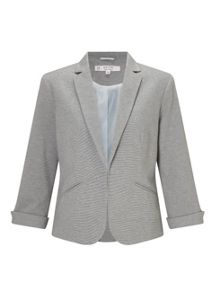 Miss Selfridge Petite Notch Ponte Jacket