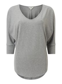Miss Selfridge 3/4 Slv Ll Tee