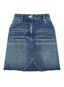Miss Selfridge Authentic Denim Skirt