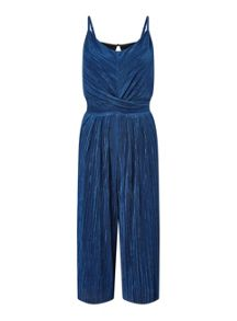 Miss Selfridge Plisse Cami Jumpsuit