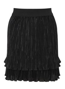 Miss Selfridge Black Rara Skirt