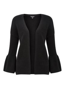 Miss Selfridge Flute Sleeve Cardigan