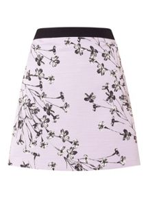 Miss Selfridge Lilac Floral Aline Skirt