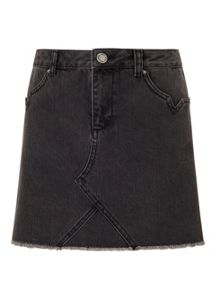 Miss Selfridge Petite Denim Mini Skirt