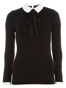 Dorothy Perkins Frill Collar 2 in 1 Top