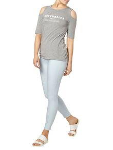 Dorothy Perkins Eden` Capri Ultra Stretch Jeggings