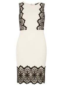 Dorothy Perkins Contrast Pencil Dress