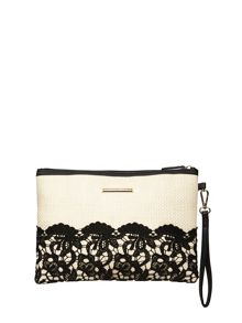 Dorothy Perkins Crochet Clutch Bag