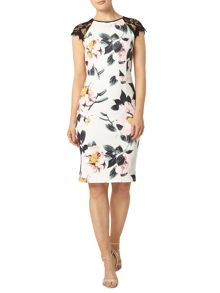 Dorothy Perkins Floral Printed Pencil Dress