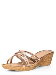 Dorothy Perkins Victory Jewelled Wedge