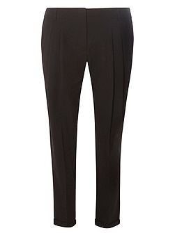 Double Pleated Naples Peg Trousers