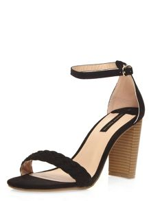 Dorothy Perkins Carlton` Plait Vamp Strap Sandals