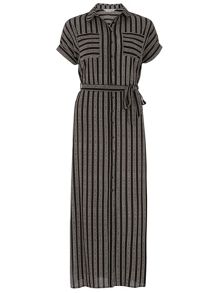 Dorothy Perkins Petite Striped Shirt Dress